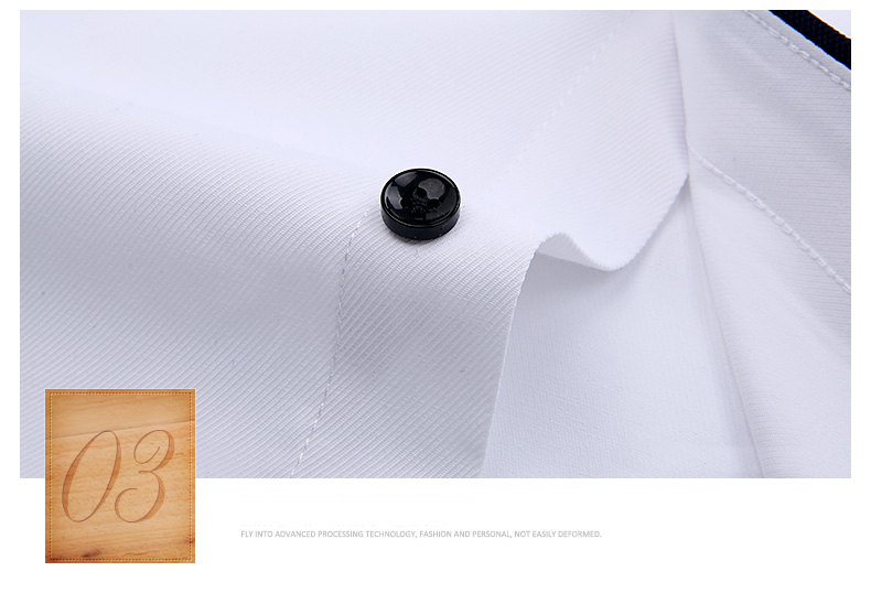 DAVYDAISY High Quality Men Shirt Long Sleeve Twill Solid Formal Business Shirt Brand Man Dress Shirts DS085 21