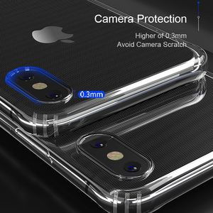 Image 2 - SAMZHE for Transparent iPhone X Case Protector Shockproof 360 degree full cover for iPhone X