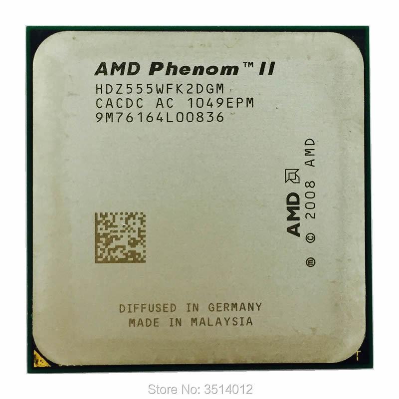Amd Phenom Ii X2 555 3 2 Ghz Dual Core Cpu Processor Hdz555wfk2dgm Socket Am3 Socket Am3 Phenom Ii X2 555phenom Ii X2 Aliexpress