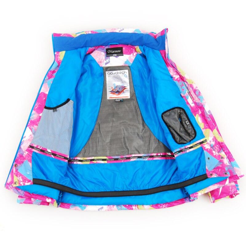Combinaison de Ski pour femmes épaissir imperméable coupe-vent respirant en plein air combinaison de Sport de montagne costume d'hiver femmes pantalon et veste - 3