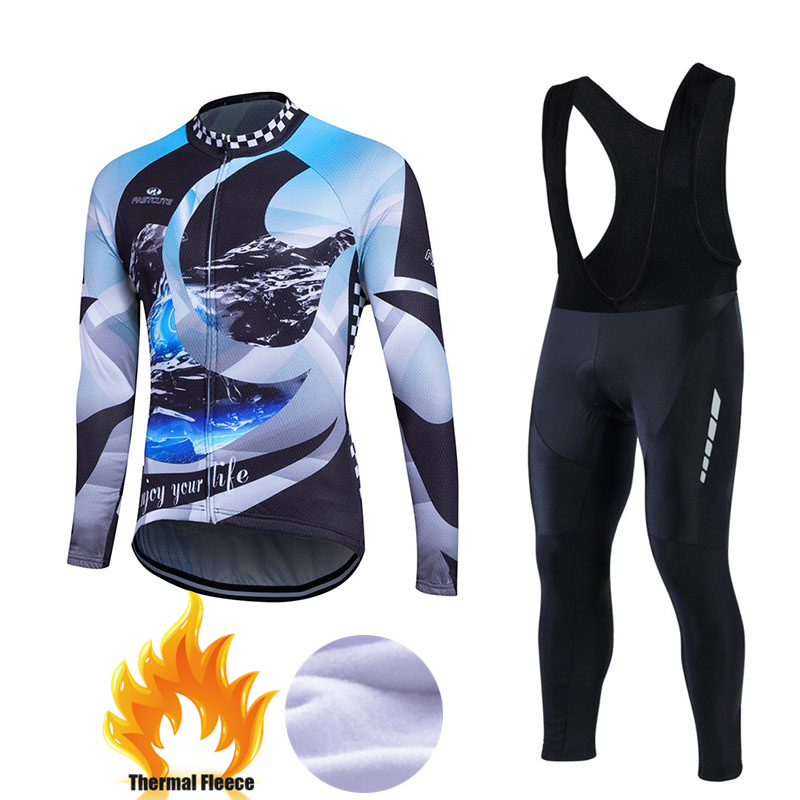 2017 Winter Thermal Fleece Cycling Jersey Maillot Ropa Ciclismo MTB Long Sleeve Super Warm Pro Bike Wear Bicycle Clothing #CFL13 polyester summer breathable cycling jerseys pro team italia short sleeve bike clothing mtb ropa ciclismo bicycle maillot gel pad