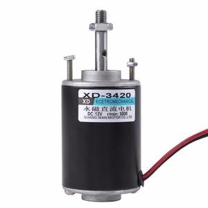 Image 5 - 1pc DC 12/24V 3000RPM/6000RPM elektryczny magnes trwały 30W CW/CCW sterowania 71x51mm dla DIY Generator