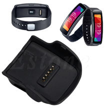 Charger Charging Cradle w/ USB Cable for Samsung Gear Fit R350 Smart Watch