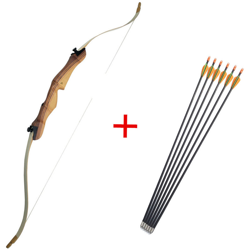54 Inch Archery Takedown Recurve Bow Right Hand Composite Children Youth Bow Handle With 6pcs Children Arrow  arco e flecha