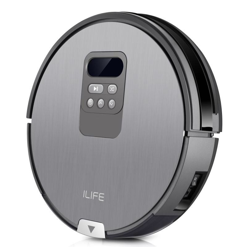 Original ILIFE X750 robot vacuum cleaner with Sweeping and Mopping 750ml dustbin Robot Aspirador