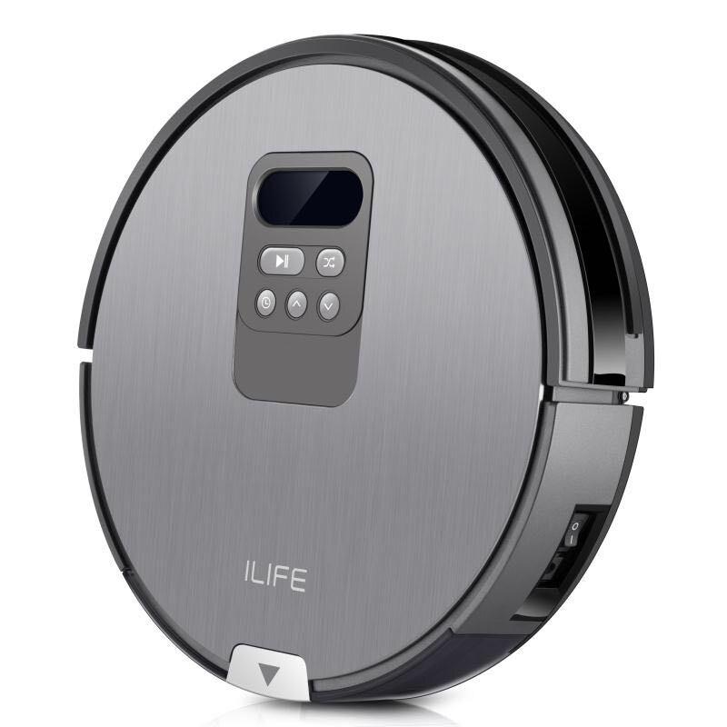 Original ILIFE X750 robot vacuum cleaner com Varrer e Esfregar 750 ml dustbin aspirateur robot stofzuiger Robô Aspirador