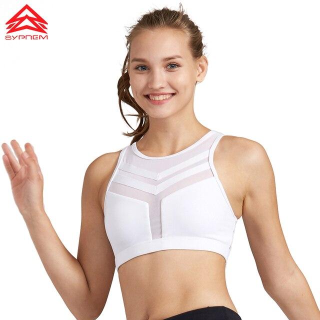 Syprem 2017 New Style Women Fitness Bra Sports Yoga Running Sexy Bra High Quality Lady Sportswear Sports Top For Female,1FT1097