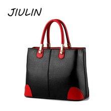 ФОТО jiulin women bags 2018 new style handbags ladies fashionable patchwork shoulder messenger crossbody hot sale popular soft pu bag