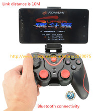 NEW Bluetooth Gamepad For Android Phone Pad Smart Box PC Joystick Wireless Bluetooth Joypad Game Controller With Mobile Holder