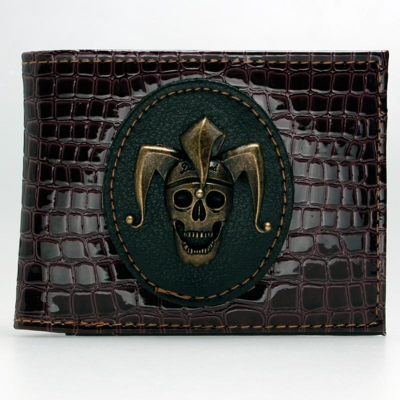 Suicide Squad Joker Skull Bi-Fold Wallet DFT-1890 fallout vault boy bi fold wallet dft 1961