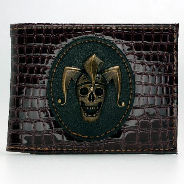 Suicide Squad Joker Skull Bi-Fold Wallet DFT-1890