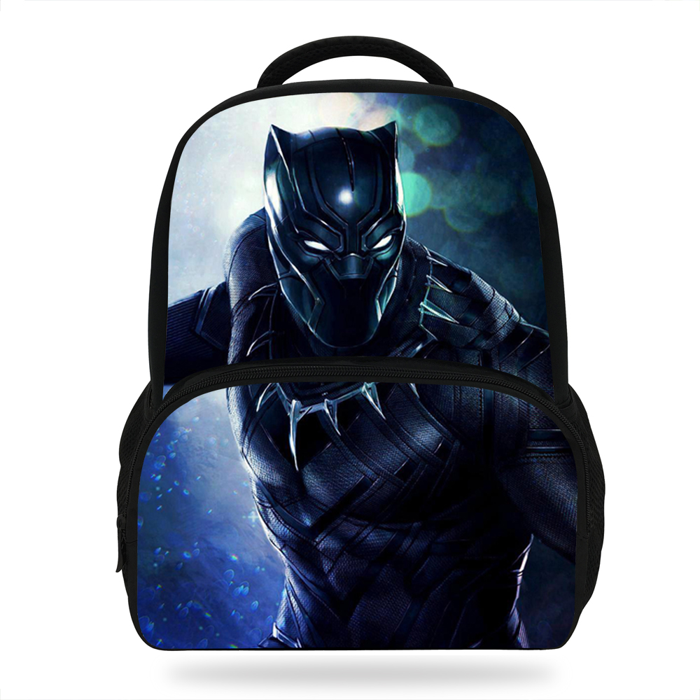 14inch Cute Mochila Boys School Bag Black Panther Backpack Kids Bookbag Children S Travel Daypack In Bags From Luggage On