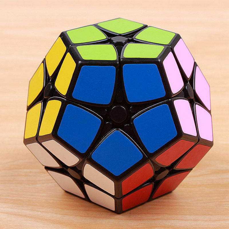 mini megaminxedes 2x2x2 puzzle speed magic cube klistremerke profesjonelt pedagogisk 12-siders leker for barn