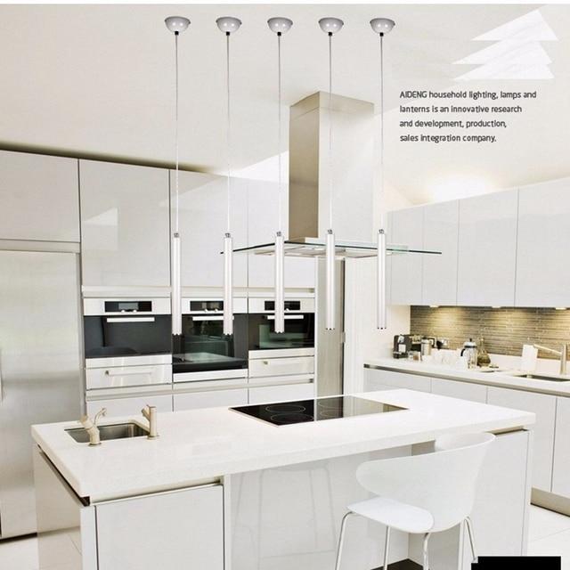 Lukloy luces colgantes l mpara de cocina moderna comedor - Luces para comedor ...