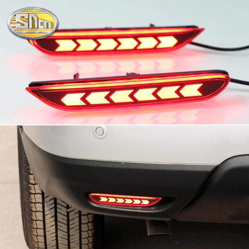 For Nissan Qashqai 2016~2018 / X-trail 2014~2016 / Teana Altima 2019 2020 Led Brake Light Rear bumper Reflector Driving Fog Lamp