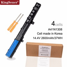 14.4V 37WH KingSener New A41N1308 Battery For ASUS X451 X551 X451C X451CA X551C X551CA X551M A31N1319 Free 2 Years Warranty