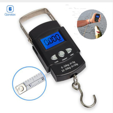 Electronic Balance Hand Scales,Mini Pocket Digital Travel Suitcase Luggage Scale,Precision Steelyard Scales For Fishing 50kg/10g цена