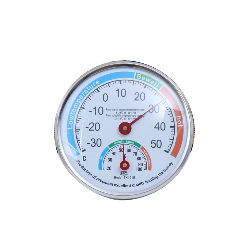 Household Centigrade Analog Thermometer Hygrometer Indoor Outdoor Temperature Humidity Monitor Meter Easy to Read TH101B 13cm
