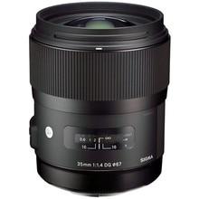 Sigma 35mm f/1.4 DG HSM Auto Focus Lens for Nikon professional Cameras lenses