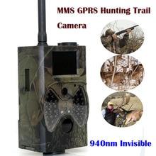 MMS GSM Cámara del Rastro de la fauna de La Cámara 940nm Negro Led Invisible Trampa Animal 1080 P Cámara de La Caza