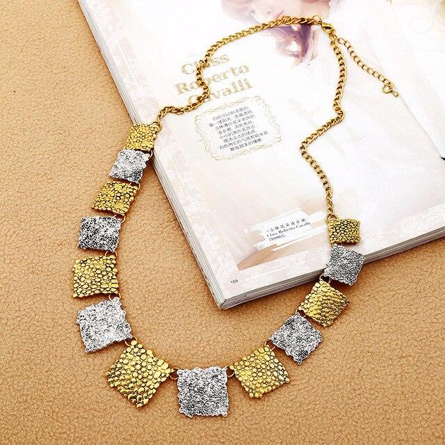 Фото женское винтажное ожерелье lzhlq длинная цепочка свитер с геометрическим цена