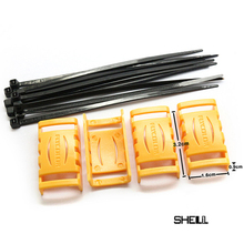 4pcs set Speed Controller ESC Protection Cover Protective shell for FPV Racer RC Drone Quadcopter