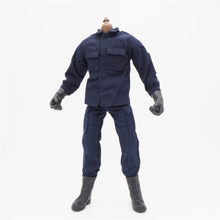 "1/6 Scale Uniforms Accessories Clothes Navy SWAT set For 12"" Male Military Action Figure Body(China)"