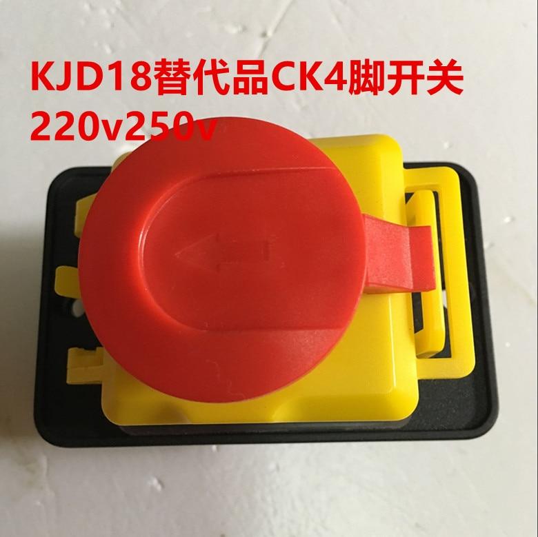 5pcs kjd18 electromagnetic switch 230v substitutes ck 4 feet 230v8 5 cm large panel in switches. Black Bedroom Furniture Sets. Home Design Ideas