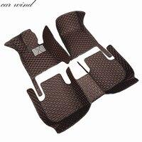 Car Wind Leather Car Floor Mat For Peugeot 307 206 308 407 207 406 408 301