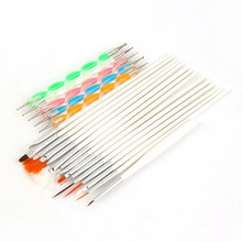 Nail Art Tools 15 Pcs Manicure Phototherapy Pen Drawing Painting Design With 5 Pcs Point Drill Pen Set Manicure Nail Polish