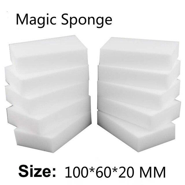 100 sztuk/40 sztuk magiczna gąbka Eraser kuchnia biuro łazienka czyste akcesoria/do czyszczenia naczyń gąbka z melaminy Nano 100*60 * 20mm
