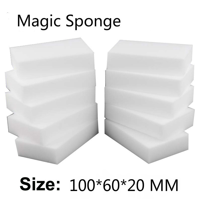 100Pcs/40pcs Magic Sponge Eraser Kitchen Office Bathroom Clean Accessory/Dish Cleaning Melamine Sponge Nano 100*60*20mm
