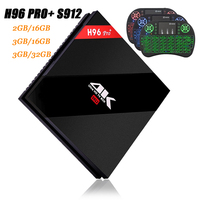 RUIJIE H96 PRO Plus Android 7 1 Smart TV Box Amlogic S912 Octa Core 3G 32G