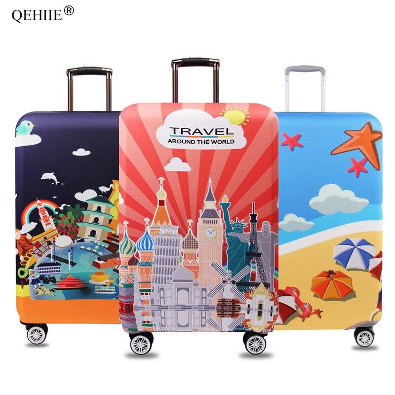 Couverture élastique de protection de bagage de tissu de QEHIIE, - Accessoires de voyage
