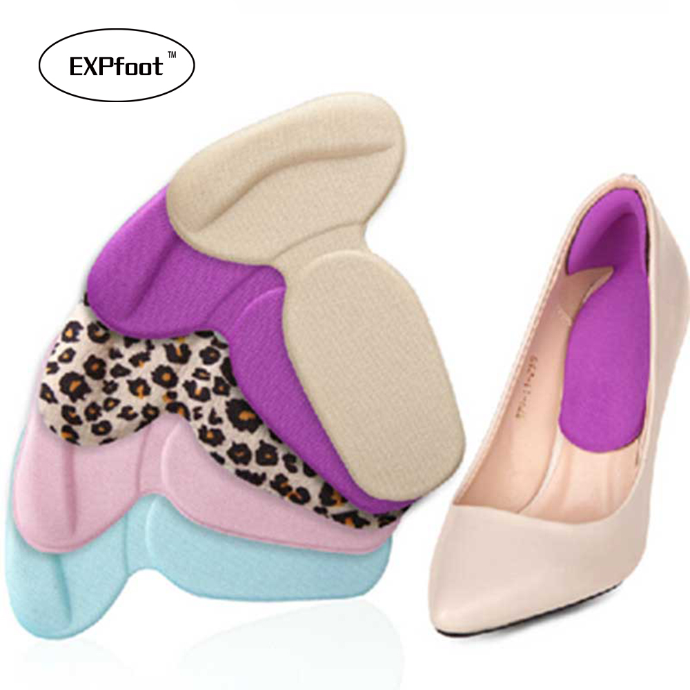 1 Pair/lots Soft Memory Foam Multicolor Insole Pads High Heel Gel Foot Care Protector Anti Slip Cushion Shoe Insert Dance цена