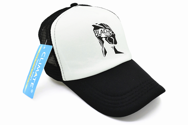 37adb5056 CLIMATE Men Women New Caps Hat Black Panther Cool Summer Caps Wakanda Black  Panther Baseball Mesh Net Trucker Cap Hat