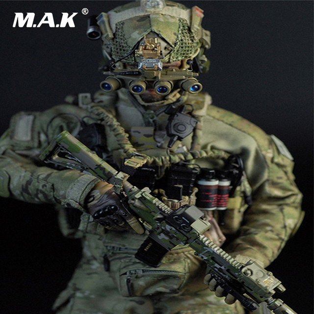 US $139 43 |1/6 Scale Collectible Full Set Action Figure US Navy SEAL Team  Six Solider M009 Male Figure Model Toys Model for Fans Gift-in Action & Toy