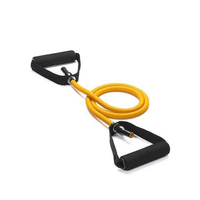 nieuwe fitness enkele weerstand band tubes gym exercixe lichaamnieuwe fitness enkele weerstand band tubes gym exercixe lichaam vormgeven pull band touwen voor workout met