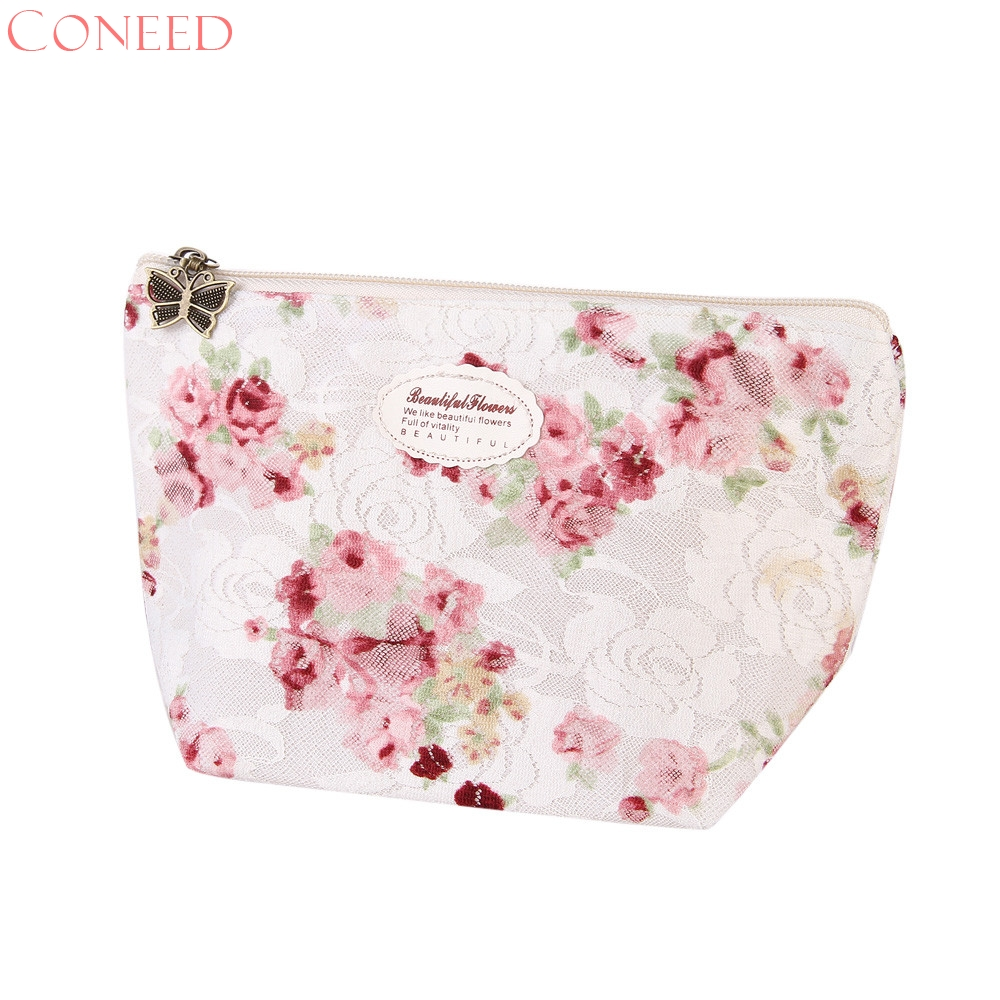 Portable Travel Cosmetic Bag Makeup Case Pouch Toiletry Wash Organizer Jn29