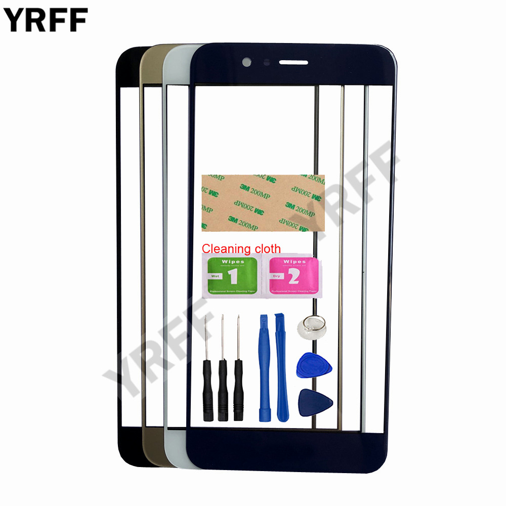 5.5'' Mobile Touch Screen Outer Glass For HuaWei Nova 2 Plus Front Glass Panel Replacement