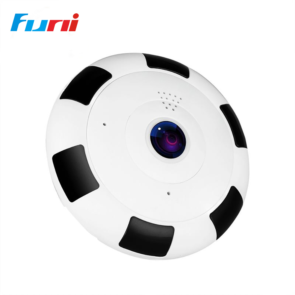 Funi 360 Degree WiFi IP Camera Home Security Camera 960P Night Vision Infrared Two Way Audio Baby Monitor Wireless Network