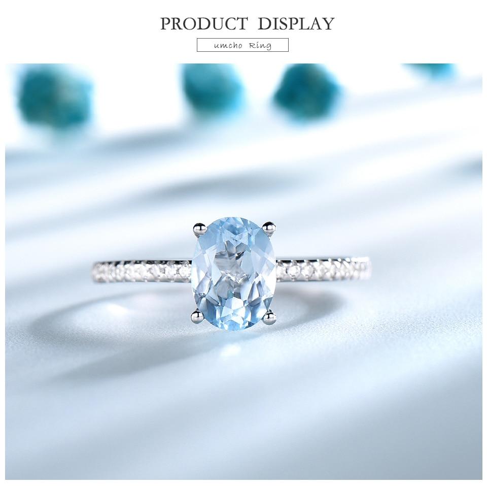Honyy  Nano Sky blue 925 sterling silver rings for women RUJ087B-1-PC (3)