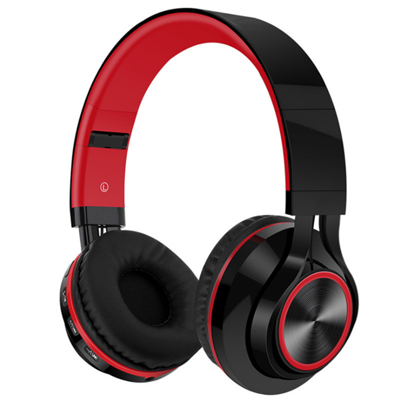 LVcards Wireless / wired Headset Foldable Headphone in Earphones (Bluetooth4.1 Headphones support TF card) sport earphone B1-01 magnetic attraction bluetooth earphone headset waterproof sports 4.2