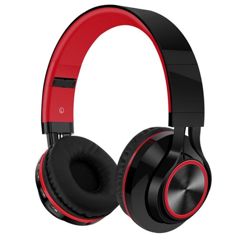 LVcards Wireless / Wired Headset Foldable Headphone In Earphones (Bluetooth4.1 Headphones Support TF Card) Sport Earphone B1-01
