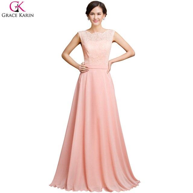 Grace karin sexy backless vestido de noche largo 2017 nuevo vestido ...