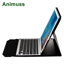 Animuss Separable Backlit Wireless Keyboard For iPad Pro 12.9 / New 2017 Pro 12.9 Aluminum Alloy Bluetooth Keyboard Case Cover slim smart connection led backlight wireless bluetooth keyboard with protective case for ipad pro 10 5 backlit aluminum alloy