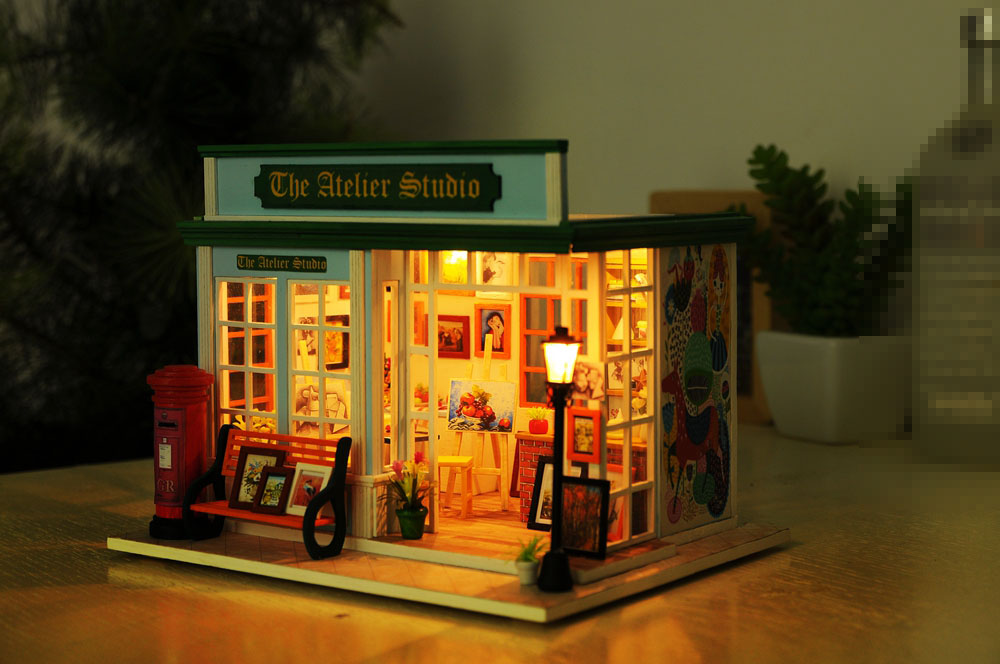 The Atelier Studio DIY 3D Dollhouse