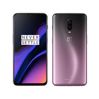 Original New 6.41 Oneplus 6T A6010 Mobile Phone 8GB RAM 128G ROM Snapdragon 845 Octa Core Fingerprint Recognitioan Smart Phone