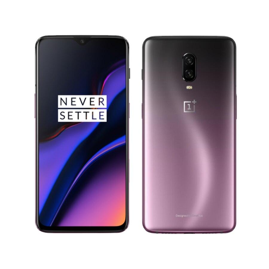 Original nouveau 6.41 Oneplus 6 T A6010 téléphone Mobile 8 GB RAM 128G ROM Snapdragon 845 Octa Core empreinte digitale reconnaissance téléphone intelligent