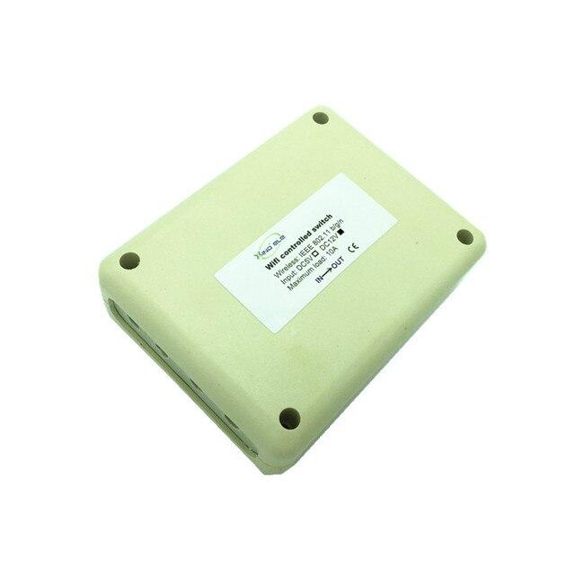 4CH 12 V Wi-fi Sem Fio Inteligente Interruptor de Luz wi-fi Controlado por Telefone No Android e IOS para Automação Residencial